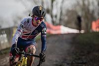 Thomas Pidcock (GBR/Telenet Fidea Lions)<br /> <br /> Men U23 Race<br /> UCI CX Worlds 2018<br /> Valkenburg - The Netherlands