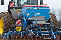6-3-2021 Drilling vining peas in South Lincolnshire <br /> ©Tim Scrivener Photographer 07850 303986<br />      ....Covering Agriculture In The UK....