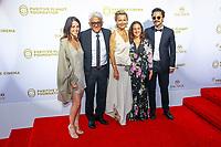 Patrick Partouche en famille, photocall d'arrivée pour la cérémonie de remise des prix de la Fondation Positive Planet de Jacques Attal, lors du soixante-dixième (70ème) Festival du Film à Cannes, Palm Beach, Cannes, Sud de la France, mercredi 24 mai 2017.