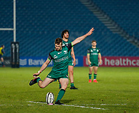 2nd January 2021; RDS Arena, Dublin, Leinster, Ireland; Guinness Pro 14 Rugby, Leinster versus Connacht; Jack Carty of Connacht adds three points to to score 12 - 28