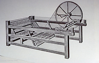 Technology: James Hargreaves, Spinning Jenny 1764.  Reference only.
