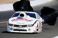 Jul. 27, 2013; Sonoma, CA, USA: NHRA pro stock driver Greg Anderson during qualifying for the Sonoma Nationals at Sonoma Raceway. Mandatory Credit: Mark J. Rebilas-