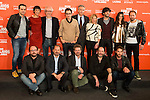 "Full cast and producers during the presentation of the film ""Ocho Apellidos Catalanes"" in Madrid, November 17, 2015.<br /> (ALTERPHOTOS/BorjaB.Hojas)"