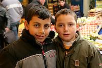 Turkish boys in Istanbul, Turkey