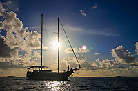 boat and sea and cloud, , Maldives, Indian Ocean