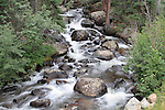 Glacier Gorge Creek in Rocky Mountain National Park.  <br />