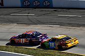 2017 Monster Energy NASCAR Cup Series<br /> STP 500<br /> Martinsville Speedway, Martinsville, VA USA<br /> Sunday 2 April 2017<br /> Denny Hamlin, FedEx Express Toyota Camry, Kyle Busch, M&M's Toyota Camry<br /> World Copyright: Scott R LePage/LAT Images<br /> ref: Digital Image lepage-170402-mv-4955