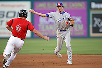 May 19, 2010: Grant Green of the Stockton Ports during game against the Lake Elsinore Storm at The Diamond in Lake Elsinore,CA.  Photo by Larry Goren/Four Seam Images