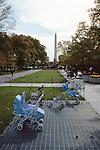 Baby Carriages & Washington Mem