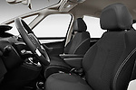 Front seat view of a 2006 - 2012 Citroen C4 Picasso Business Mini MPV.