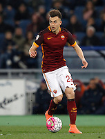 Calcio, Serie A: Roma vs Fiorentina. Roma, stadio Olimpico, 4 marzo 2016.<br /> Roma's Stephan El Shaarawy in action during the Italian Serie A football match between Roma and Fiorentina at Rome's Olympic stadium, 4 March 2016.<br /> UPDATE IMAGES PRESS/Riccardo De Luca