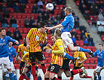 St Johnstone v Partick Thistle....17.01.15  SPFL<br /> Steven Anderson gets above the Partick defence to score saints second goal<br /> Picture by Graeme Hart.<br /> Copyright Perthshire Picture Agency<br /> Tel: 01738 623350  Mobile: 07990 594431