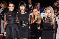 Four of Diamonds<br /> at the Pride of Britain Awards 2016, Grosvenor House Hotel, London.<br /> <br /> <br /> ©Ash Knotek  D3191  31/10/2016