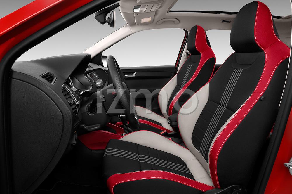 Front seat view of 2016 Skoda Fabia Monte-Carlo 5 Door Hatchback Front Seat  car photos