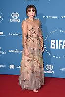 Molly Wright<br /> arriving for the British Independent Film Awards 2018 at Old Billingsgate, London<br /> <br /> ©Ash Knotek  D3463  02/12/2018