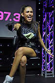 HOLLYWOOD, FL -  AUGUST 18: Madison Beer performs at radio station Hits 97.3 on August 18, 2017 in Hollywood, Florida. Photo by Larry Marano © 2017