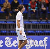 Rotterdam, Netherlands, December 18, 2015,  Topsport Centrum, Lotto NK Tennis, Robin Haase (NED)<br /> Photo: Tennisimages/Henk Koster