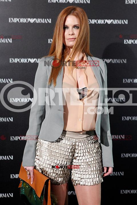 Olivia de Boorbon attends the Emporio Armani Boutique opening at Serrano street in Madrid, Spain. April 08, 2013. (ALTERPHOTOS/Caro Marin) /NortePhoto