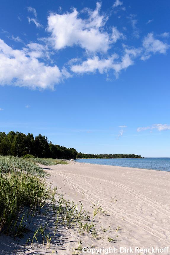 Strand von Åminne  auf der Insel Gotland, Schweden, Europa<br /> Beach of Amine, Isle of Gotland Sweden