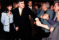 Montreal (Qc) CANADA - May 5 2000 File Photo - Lucien Bouchard, PQ Leader arrive at the convention