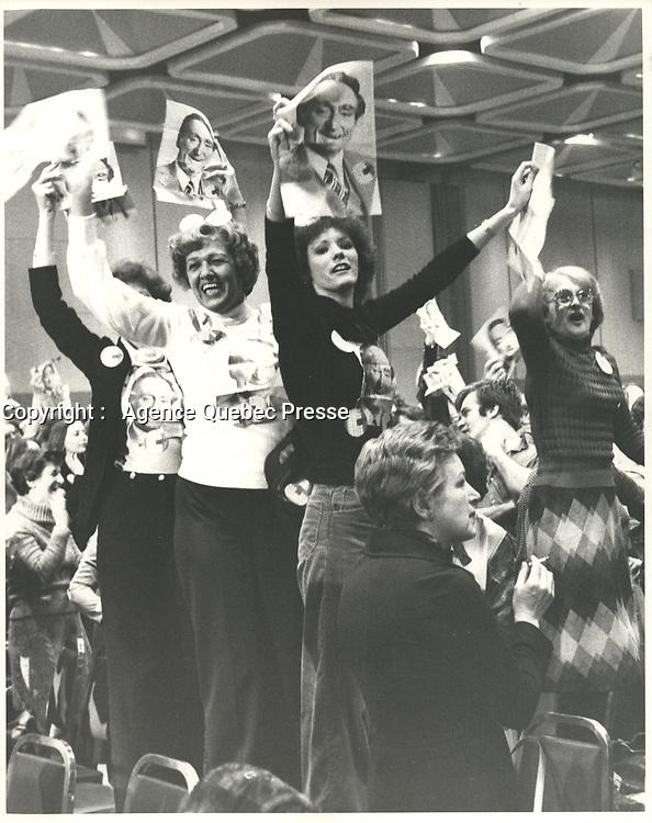 Claude Ryan  le 19 fevrier 1978 <br /> <br /> <br /> <br /> PHOTO :  Agence Quebec Presse