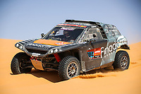 5th January 2021; Dakar Rally stage 3; #384 Bergounhe Jean-Rémy (fra), Brucy Jean (fra), PH Sport, PH Sport, Light Weight Vehicles Prototype - T3, action during the 3rd stage of the Dakar 2021 between Wadi Al Dawasir and Wadi Al Dawasir, in Saudi Arabia on January 5, 2021
