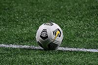 ATLANTA, GA - APRIL 27: 2021 CONCACAF Champions League match ball during a game between Philadelphia Union and Atlanta United FC at Mercedes-Benz Stadium on April 27, 2021 in Atlanta, Georgia.