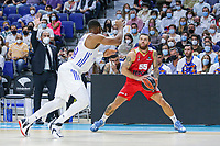 13th October 2021; Wizink Center; Madrid, Spain; Turkish Airlines Euroleague Basketball; game 3; Real Madrid versus AS Monaco; Mike James (AS Monaco) in action