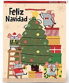 Dreams, CHRISTMAS ANIMALS, WEIHNACHTEN TIERE, NAVIDAD ANIMALES, paintings+++++,MEDAX80/2,#xa# ,jack dreams