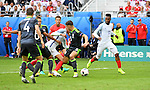 Daniel Sturridge scoops up the ball to score for England late in the second half at the Stade Bollaert-Delelis in Lens, France this afternoon during their Euro 2016 Group B fixture against Wales.