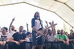 Spanish music Belako at Dcode music festival Belako in Madrid. September 10, 2016. (ALTERPHOTOS/Rodrigo Jimenez)