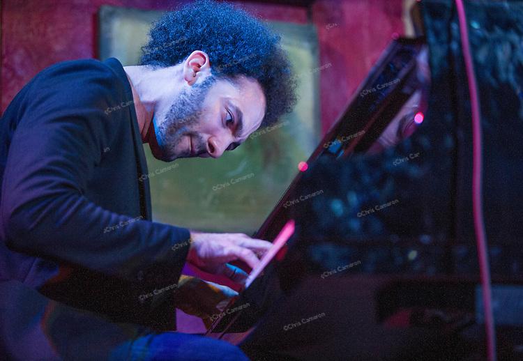 David Virelles plays at the IronWorks on June 24, 2014 TD Vancouver International Jazz Festival