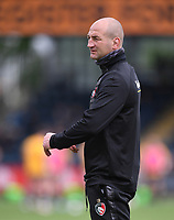 29th May 2021; Sixways Stadium, Worcester, Worcestershire, England; Premiership Rugby, Worcester Warriors versus Leicester Tigers; Steve Borthwick Director of Rugby for Leicester Tigers
