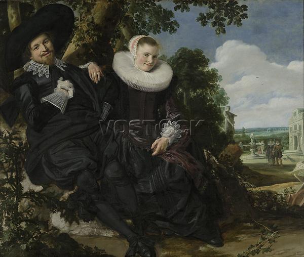 Portrait of a Couple, Probably Isaac Abrahamsz Massa and Beatrix van der Laen, Frans Hals, c. 1622