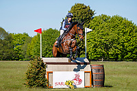 GBR-Rosalind Canter rides Izilot DHI during the Cross Country for the CCI-L 3* Section C. Interim-1st. 2021 GBR-Saracen Horse Feeds Houghton International Horse Trials. Hougton Hall. Norfolk. England. Saturday 29 May 2021. Copyright Photo: Libby Law Photography