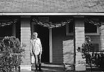 Jeff Nelson of Minor Threat at Dischord House, Arlington VA, spring 1982.