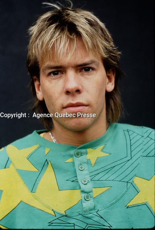 Portrait exclusif de Paul Sarrasin en 1987