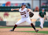 Winter Park Wildcats pitcher Shane Cross (8) during the 42nd Annual FACA All-Star Baseball Classic on June 6, 2021 at Joker Marchant Stadium in Lakeland, Florida.  (Mike Janes/Four Seam Images)