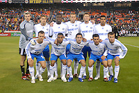 Kansas City Wizards Starting XI. The Kansas City Wizards defeated DC United 4-2, in the home opener for DC United at RFK Stadium, April 14, 2007.