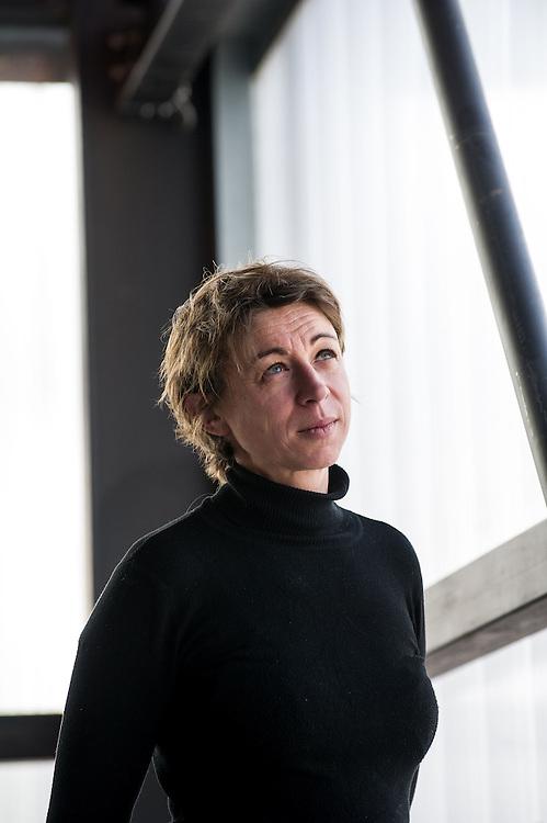 Aude Vandenbrouck, membre de la commission Culture de l'association CANE et coordonnatrice de la Cité des Arts de la rueZone franche urbaine ZFU - Marseille 2013