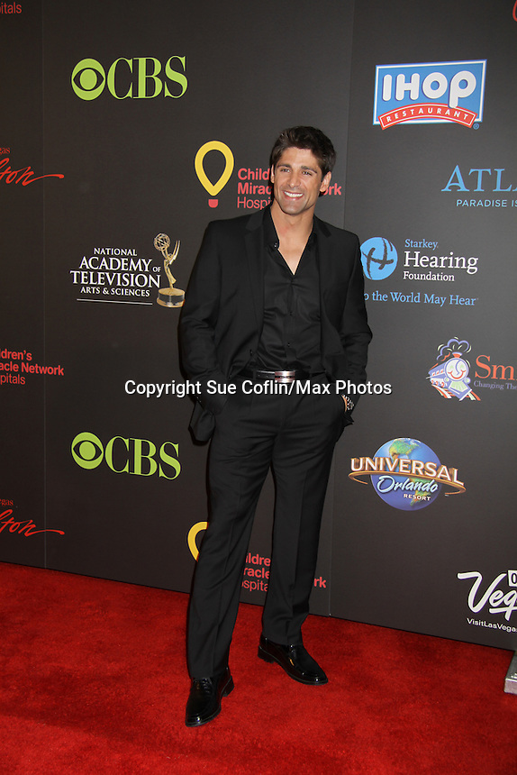 """Days of Our Bren Foster """"Quinn Alamain"""" at the 38th Annual Daytime Entertainment Emmy Awards 2011 held on June 19, 2011 at the Las Vegas Hilton, Las Vegas, Nevada. (Photo by Sue Coflin/Max Photos)"""