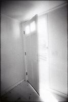 Light through open door<br />