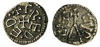 BNPS.co.uk (01202) 558833. <br /> Pic: Spink&Son/BNPS<br /> <br /> Pictured: This Northumbria, Æthelred I, Second Reign (789-796), Sceat sold for £1,320.  <br /> <br /> A finance director's remarkable collection of historic Anglo-Saxon coins has sold for a staggering £856,000.<br /> <br /> Tony Abramson, president of the Yorkshire Numismatic Society, started collecting aged four in the 1950s.<br /> <br /> His passion developed during his teenage years and he went to great lengths to bolster his collection in the decades that followed until it reached 1,200 coins.