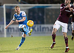 St Johnstone v Hearts…23.12.17…  McDiarmid Park…  SPFL<br />Liam Craig<br />Picture by Graeme Hart. <br />Copyright Perthshire Picture Agency<br />Tel: 01738 623350  Mobile: 07990 594431