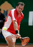 19-8-06,Amsterdam, Tennis, NK, Paul logtens  LET OP FOTO VAN ZATERDAG