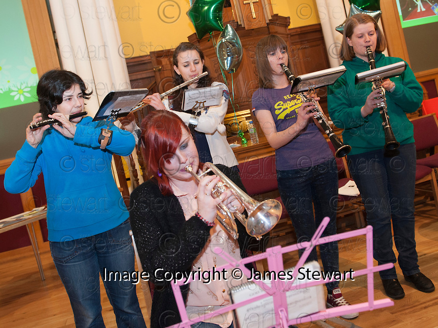 Litter Strategy Awards 2013 : Linlithgow Reed Band.