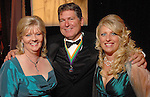 """Bonnie Fallin, Marc Deer and Danette Payne at the San Luis Salute to """"The Italian Riviera"""" at the Galveston Island Convention Center at the San Luis Friday  Feb. 20, 2009.(Dave Rossman/For the Chronicle)"""