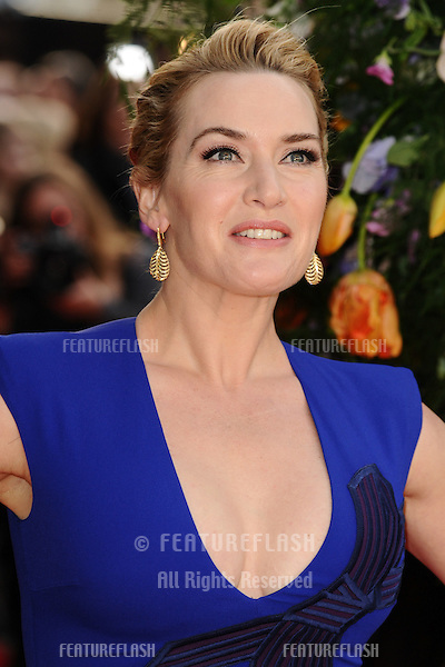 """Kate Winslet arrives for the premiere of """"A Little Chaos"""" at the Odeon Kensington, London. 13/04/2015 Picture by: Steve Vas / Featureflash"""