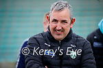Kerry manager Fintan O'Connor in the Allianz National Hurling League Division 2A Round 4 at Austin Stack Park, Tralee on Saturday.