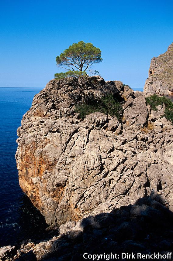 Spanien, Mallorca, Bucht von Sa Caobra